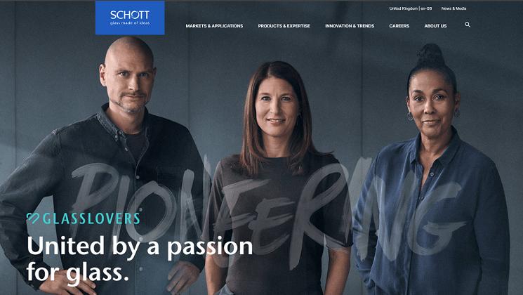 Schott website
