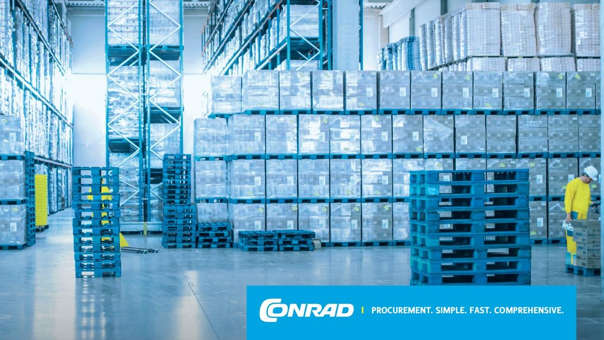 CONRAD Electronic ACTUM solution