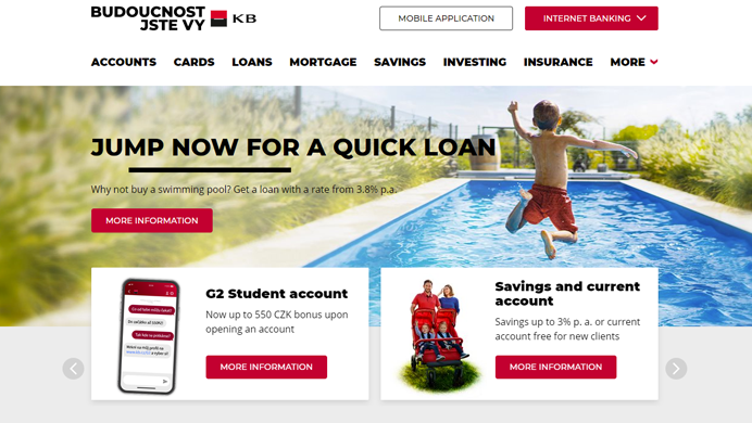Komercni Banka case study
