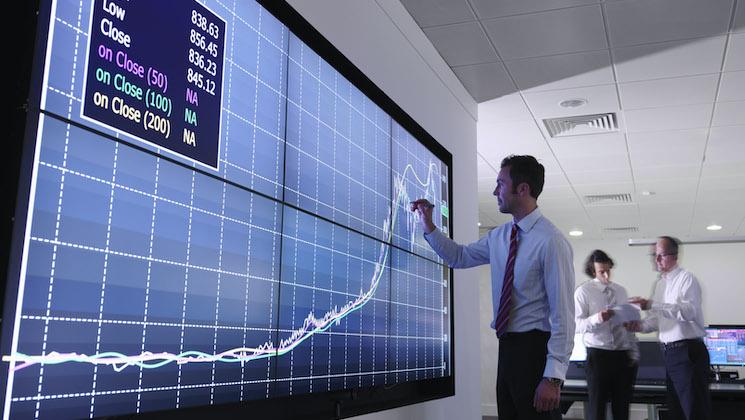 SAP Analytics dashboard